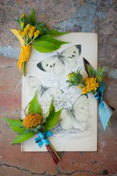 boutonnieres by Flower Wild Design