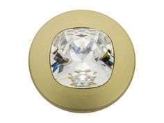 Swarovski 1792100 17mm Gold-Plated Fancy Stone Jeans Button Crystal I am so buying!!!!!!