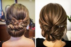 Peinados para un vestido de novia sin espalda #bodas #ElBlogdeMaríaJosé #PeinadoNovia
