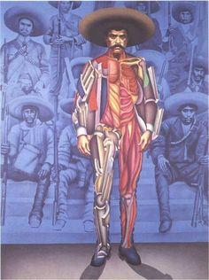 Zapata de Arnold Belkin, México, 1978.