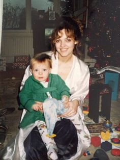 Louis and his mum