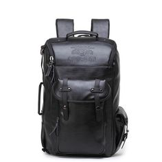 CROSS OX New Arrival 2017 Male Functional bags Fashion Men backpack PU Leather backpack big capacity Men bags Men's Backpack, Leather Backpack, Pu Leather, Fashion Backpack, Fashion Models, Mens Fashion, Travel Accessories, Backpacks, Moda Masculina