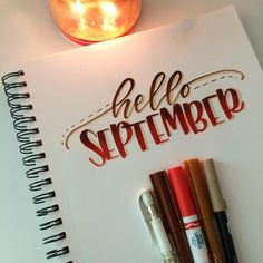 This is a prompt from the #fallletteringchallenge which looks like fun! There are so many great challenges starting. Thank you to @letteringchallenges for putting them all in one spot! Happy September! 🍂 ⠀⠀⠀ ⠀ #handlettering #lettering #crayola #crayoligraphy #crayligraphy #tombow #uniballsigno #fall #september #moderncalligraphy #calligraphy