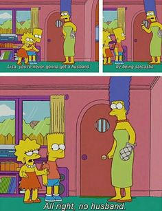 "Times Lisa Simpson Was The Ultimate Feminist Icon - MTV"" This is me. Lisa Simpson, Simpsons Quotes, The Simpsons, Simpsons Meme, Funny Cute, Hilarious, Feminist Icons, Funny Feminist, Feminist Af"