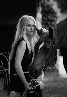 Kseniya & Lady by Cecilia Zuccherato on 500px