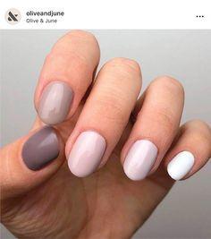 Semi-permanent varnish, false nails, patches: which manicure to choose? - My Nails Red Nails, White Nails, White Manicure, Design Ongles Courts, Nail Art, Short Nail Designs, Nagel Gel, Bridal Nails, Nail Decorations