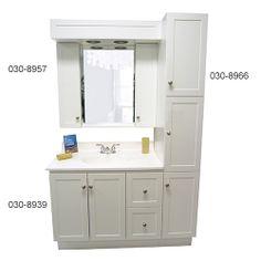 Salle de bain on pinterest armoires shower bathroom and for Meuble salle de bain montreal