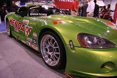 Modified Dodge Viper ACR on Kenda tires