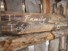 Hey, I found this really awesome Etsy listing at https://www.etsy.com/listing/166763280/hunting-sign-family-sign-made-in-montana