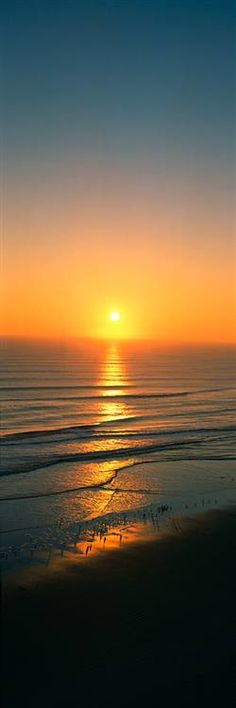 Sunset at Daytona Beach, Florida. Visited as a child & couldn't believe it as we drove into the beach!