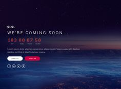 CoCo is Premium full Responsive Retina HTML5 #ComingSoon Template. #WebGl. Mailchimp. If you like this Template visit our handpicked list of best #ComingSoonWebsiteTemplates at: http://www.responsivemiracle.com/best-responsive-coming-soon-website-templates/
