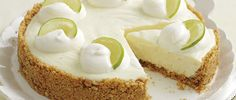 Mary Berry makes a foolproof lemon and lime cheesecake recipe. It is lovely and creamy, with a zingy citrus hit. Read full recipe here