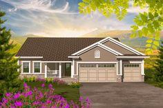 Affordable 3 Bedroom Ranch - 89881AH | 1st Floor Master Suite, CAD Available, Northwest, PDF, Ranch, Split Bedrooms | Architectural Designs