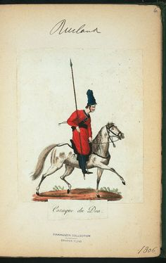 Don Cossack (NYPL > The Vinkhuijzen collection of military uniforms > Russia. > Russia, 1806 [part 1])