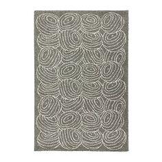 NORDIS Teppich Langflor, grau - IKEA