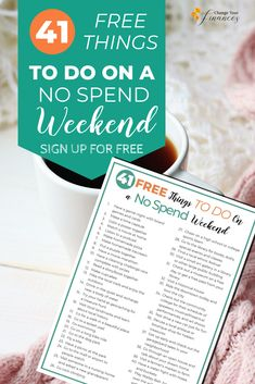 41 Free things to do on the weekend without spending any money. Here are great ideas for a no spend weekend! Cheap Things To Do, Free Things To Do, Fun Things, Student Jobs, Paying Off Student Loans, Budgeting Worksheets, Budgeting Tips, Paying Off Credit Cards, Budget Planer