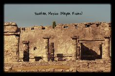 Photography, Outdoor Photography, Mayan Ruins, Nature, Yucatan Mexico