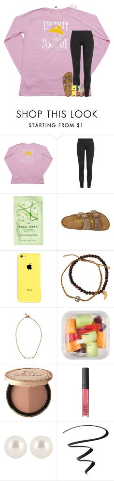 """d-now this weekend🙏🏼☺️"" by theblonde07 ❤ liked on Polyvore featuring adidas, H&M, Birkenstock, Tai, Lead, Too Faced Cosmetics, NARS Cosmetics, Henri Bendel and NYX"