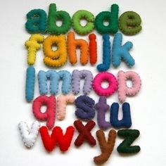 object alphabet - Google Search