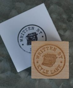Loving this 'Written By' Personalized Stamp on #zulily! #zulilyfinds