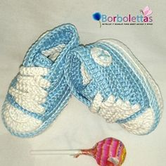 Baby Shoes, Newborn Shoes, Baby Sneakers, Babyshower, Converse, Crochet Shoes, Crochet Baby Booties, Light Blue,Gift, Allstar, Baby Gift