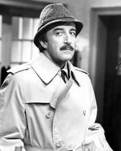 it has never ceased to amaze me that he and my dad look identical-  Peter Sellers in The Pink Panther