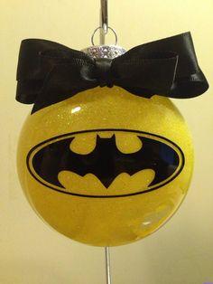 2 LEFT Personalized Hand painted Batman superhero Christmas ...