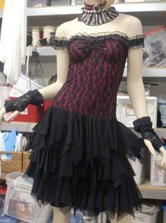 Sexy Steampunk Dress Goth Bride Gypsy Bohemian by UrthGypsyVintage, $298.00
