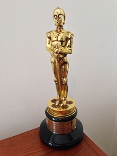 C-3PO Achievement Award - given to Lucas Film employees to commemorate 20 years of service.