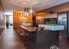 #cocina office con encimera #Dekton