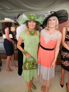 "August 10, 2013 - Twyla's Big Hat birthday party luncheon for 50 women in her home in Laguna Beach, Ca. I was head to toe in green with my succulent hat, dress, bracelet, shoes and purse. Made the dress, spray painted the hat and dyed the shoes to match the dress. Got up at 6 am on Saturday morning to hot glue the succulents on my hat, bracelet, purse and shoes. All the succulents are from my garden. It was fun. I won the top award for ""Best of the Best"" for ""Taste, Style & Design""."