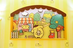 「ポムポムプリンカフェ」が原宿にグランドオープン!パンケーキやマンゴーパフェなどの写真31