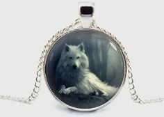 Wolf Necklace Pendant Jewelry Gift with jewelry by savannahspace