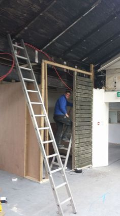 Excellent progress on our disabled toilet at A4 studios