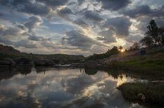 Day Breaks On The Tungabhadra River