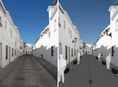 Proyecto de reforma urbana para diversos espacios de #Mijas por #Dika.#estudio #studio #proyecto #project #mijas #málaga #costadelsol #diseño #design #graphic #gráfico #fotomontaje #photomontage #arquitectura  #architecture #infografía #infographic #infoarquitectura #infoarchitecture #modelado #modeling #maqueta #model #urbanismo #espacios #spaces  #urban #3D