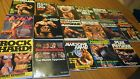 Lot of 17 BODYBUILDING Books from 80's Weider Kennedy Muscle Physique Gold's