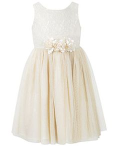 Mallory's Flower Girl Dress  Toddler Girl Clothes at Macy's - Toddler Girls Clothing - Macy's