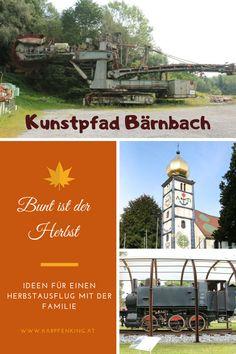 Bei diesem Ausflug in der Steiermark ist für die ganze Familie etwas dabei. Wir haben den Kunstpfad in Bärnbach besucht und dabei die Hunderwasserkirche, den Kräutergarten, den Fuchsbrunnen oder Mosesbrunnen, einen Riesen-Schaufelradbagger, eine alte Lokomotive uvm. mehr gesehen und vieles erlebt!