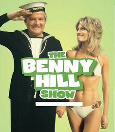 The Benny Hill Show, he was so crazy, we'd roller skate and watch at the same time, Benny chasing some woman round and around :p