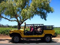 Adventure Hummers and Backroads Wine Tours in Santa Barbara Take a ride aboard our elite fleet of open air Hummers along the backroads of Santa Barbara will take you to places you would not otherwise see aboard a conventional tour of the area.