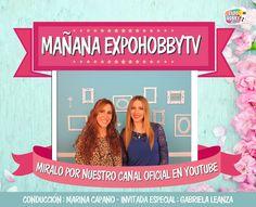 MAÑANA en EXPOHOBBY TV: Gabriela Leanza nos enseña la innovadora técnica de Fussinglue! #ExpohobbyTV #Fussinglue #Arte #Manualidades #Decoracion #Youtube #Mañana #Miralo #NoTeLoPierdas Gabriela Leanza