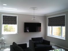 stunning roman blinds, made and fitted by fabric box Fabric Boxes, Roman Blinds, Roman Shades, Curtains, Home Decor, Blinds, Decoration Home, Room Decor, Draping