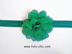 Green Christmas Headband green headbands by TutuChicHBBoutique, $5.00