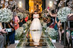 Discover thousands of images about Casamento na IPJO e Mediterraneo Passalaqua Church Wedding Decorations, Table Decorations, Wedding Ceremony, Wedding Venues, Girls Dresses, Flower Girl Dresses, Church Flowers, Bridesmaid Dresses, Wedding Dresses