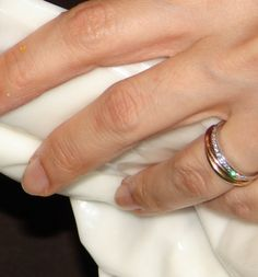 Cartier Trinity Ring As Engagement