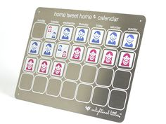 """Home Tweet Home"" Parenting Time Calendar - Excellent for Co-Parenting!"