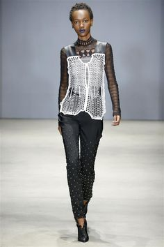 3ders.org - Ohne Titel's 3D printed fashions turn heads at NY Fashion Week | 3D Printer News & 3D Printing News