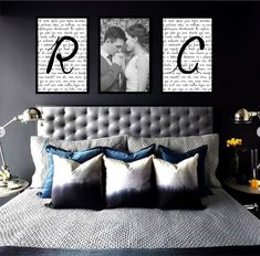 Room Decor Bedroom, Living Room Decor, Outdoor Laundry Rooms, Picture Arrangements, Couple Room, Master Room, Modern Room, My Room, Bed Pillows