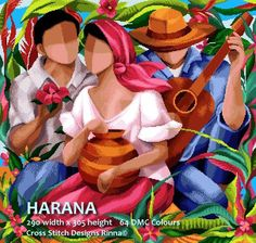 Harana-(Courtship Song) a Filipino Art in Cross Stitch- Pattern in PDF at Cross Stitch Designs Rinna Arte Filipino, Filipino Culture, Action Painting, Cross Stitch Designs, Cross Stitch Patterns, Philippine Art, Cubism Art, Filipiniana, Amazing Art